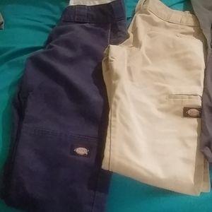 Dickies skinny straight pants